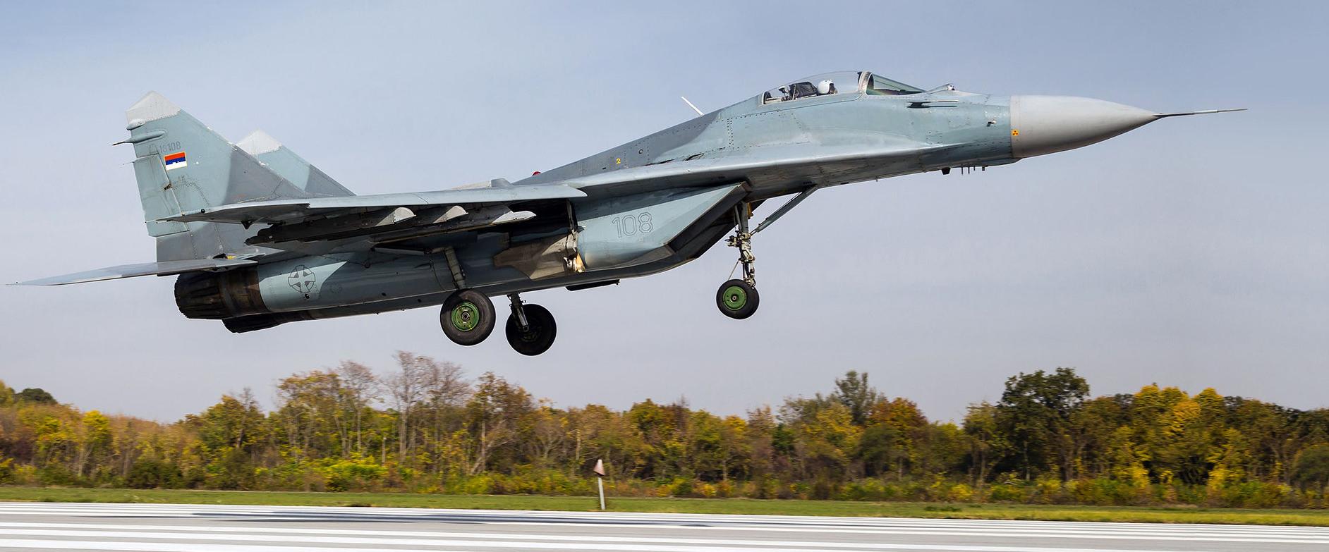 Serbian AF 101st Fighter Squadron - LYBT
